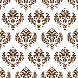 Damask texture Royalty Free Stock Image