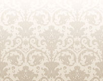 Damask traditional wallpaper Stock Photography