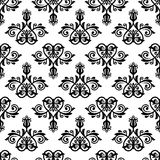 Damask Vector Classic Pattern. Seamless Vintage Ba Royalty Free Stock Photo