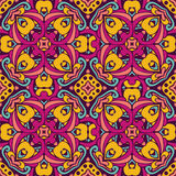 Damask vector festive  abstract seamless pattern Royalty Free Stock Photography