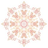 Damask Vector Orient Pattern Royalty Free Stock Image