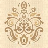 Damask Vector Oriental Pattern Stock Photo