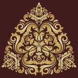 Damask Vector Oriental Pattern Stock Image
