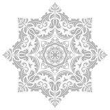 Damask Vector Oriental Pattern Royalty Free Stock Image