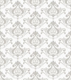 Damask vector pattern Royalty Free Stock Images
