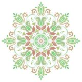 Damask Vector Pattern. Orient Colorful Ornament Royalty Free Stock Image