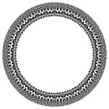 Damask Vector Pattern. Round Ornament Royalty Free Stock Photo