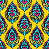 Damask vector seamless pattern Stock Images