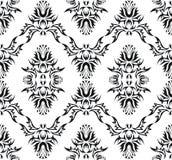 Damask (Victorian) seamless pattern Stock Photography