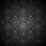 Damask Vignette Royalty Free Stock Photography