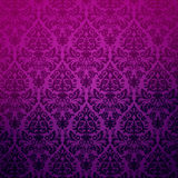 Damask Vintage Floral Background Pattern. Royalty Free Stock Image