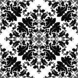 Damask vintage floral background pattern, vector Eps10 illustration stock illustration