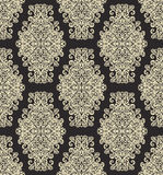 Damask vintage floral seamless pattern background Stock Photo