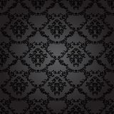 Damask Vintage Floral Seamless Pattern Background. Stock Photos