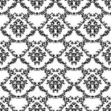Damask Vintage Floral Seamless Pattern Background. Royalty Free Stock Photography