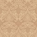 Damask Vintage Floral Seamless Pattern Background. Stock Image