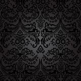 Damask Vintage Floral Seamless Pattern Background. Stock Images