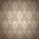 Damask vintage floral seamless  pattern background. Vector  illustration Royalty Free Stock Image