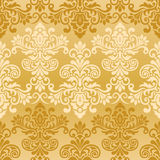 Damask vintage Seamless background Pattern. Seamless floral pattern for design, vector Illustration vector illustration