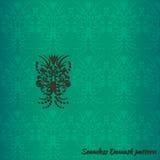 Damask vintage seamless pattern Stock Photography