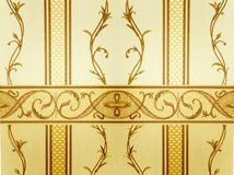 Damask wallpaper Stock Image