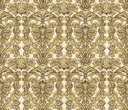 Damask wallpaper. Stock Photo