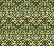Damask wallpaper. Royalty Free Stock Image
