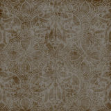 Damask Wallpaper. Vintage Grungy Damask paper for scrapbooking and design Stock Photos