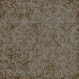Damask Wallpaper. Vintage Grungy Damask paper for scrapbooking and design Stock Image