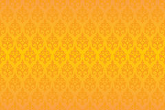 Damask wallpaper. S executed in a vector stock illustration