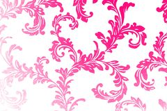 Free Damask Wallpaper In Modern Colors Stock Photography - 4381962