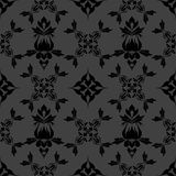 Damask wallpaper pattern Royalty Free Stock Image