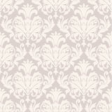 Damask wallpaper pattern Stock Image