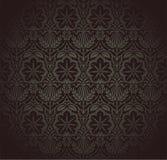 Damask Wallpaper Pattern Stock Photography