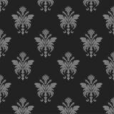 Damask wallpaper seamless pattern Stock Image