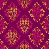 Damask wallpaper Stock Image