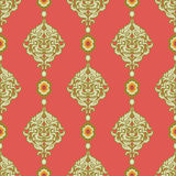 Damask wallpaper Royalty Free Stock Image