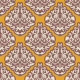 Damask wallpaper Royalty Free Stock Photo