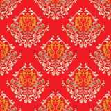 Damask wallpaper Stock Images