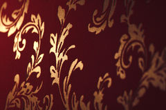Damask wallpapers Royalty Free Stock Image