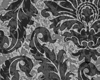Damaske pattern dark vector illustration