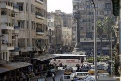 中东叙利亚DAMASKUS市中心 免版税库存图片