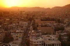 中东叙利亚DAMASKUS市中心 免版税图库摄影