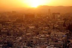 中东叙利亚DAMASKUS市中心 库存图片