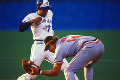 Damaso Garcia, Toronto Blue Jays Stock Image