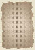 Damassé sans joint, brun de papier peint de ? Images stock