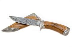 damassk刀子 库存照片