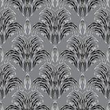 Damast Bloemen Vector Naadloos Patroon Royalty-vrije Stock Foto's