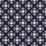 Damast blom- sömlös patterm /background Arkivbilder