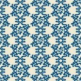 Damast mooi patroon met mooi ornament Stock Foto's
